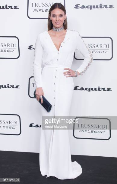 Model Helen Lindes attends new fragrance Riflesso de Trussardi launching party at Palacio de Santa Coloma on May 10 2018 in Madrid Spain