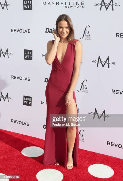 Model Helen Owen attends the Daily Front Row's 3rd Annual Fashion Los Angeles Awards at Sunset Tower Hotel on April 2 2017 in West Hollywood...