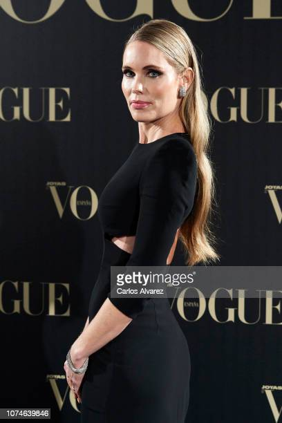 Model Helen Swedin attends the Vogue Joyas awards 2018 at Palacio de Santoña on November 29 2018 in Madrid Spain