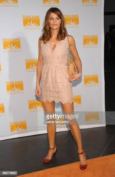 Model Helena Christensen attends the Food Bank for New York City's 8th Annual CanDo Awards dinner at Abigail Kirsch�s Pier Sixty at Chelsea Piers on...