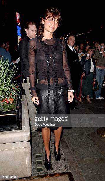 Model Helena Christensen attends the private VIP party thrown by model Helena Christensen in association with Swarovski and Diesel at Paper Regent...