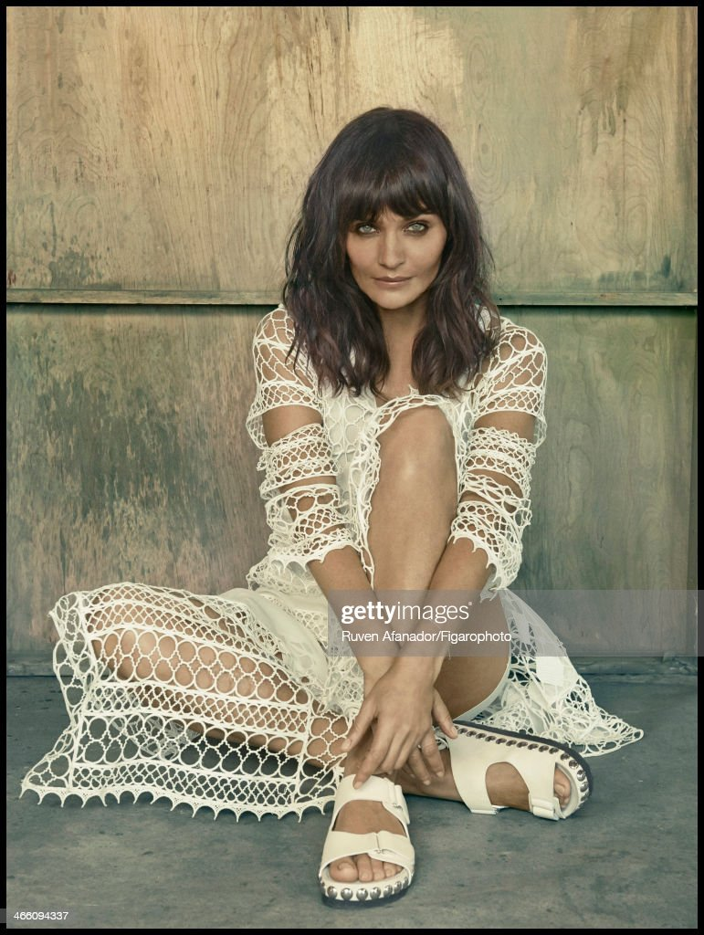 Helena Christensen, Madame Figaro, January 10, 2014