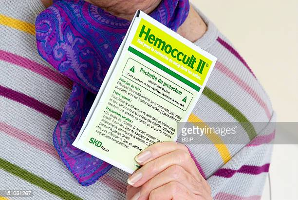 Model Hemoccult Test Is Used For Screening The Presence Of Blood In The Stool It Can Be A Signal For The Cancer Of The Colon