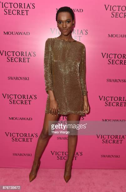 Model Herieth Paul attends the 2017 Victoria's Secret Fashion Show In Shanghai After Party at MercedesBenz Arena on November 20 2017 in Shanghai China
