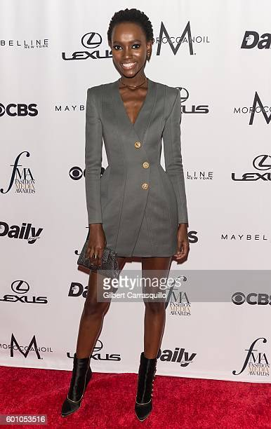 Model Herieth Paul attends The Daily Front Row's 4th Annual Fashion Media Awards at Park Hyatt New York on September 8 2016 in New York City