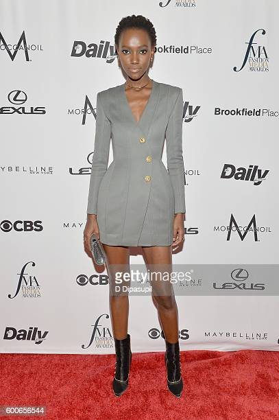 Model Herieth Paul attends the The Daily Front Row's 4th Annual Fashion Media Awards at Park Hyatt New York on September 8 2016 in New York City