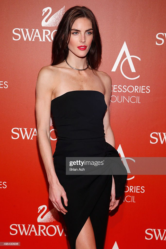 Model Hilary Rhoda attends 19th Annual Accessories Council ACE Awards on November 2, 2015 in New York City.