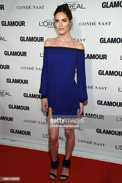 Model Hilary Rhoda attends 2015 Glamour Women Of The Year Awards at Carnegie Hall on November 9, 2015 in New York City.