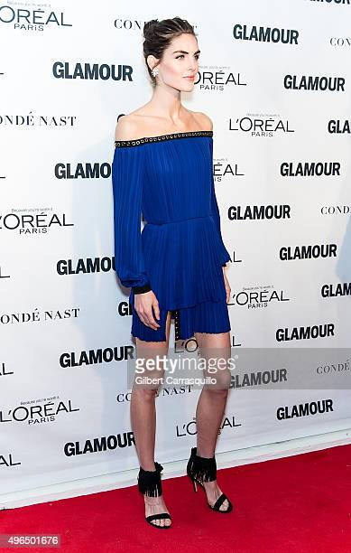 Model Hilary Rhoda attends Glamour's 25th Anniversary Women Of The Year Awards at Carnegie Hall on November 9, 2015 in New York City.