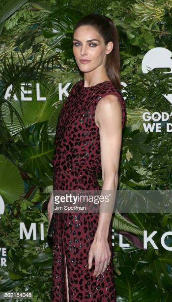 Model Hilary Rhoda attends the 11th Annual God's Love We Deliver Golden Heart Awards at Spring Studios on October 16 2017 in New York City