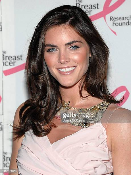 Model Hilary Rhoda attends the 2010 Breast Cancer Research Foundation's Hot Pink Party at The Waldorf=Astoria on April 27 2010 in New York City