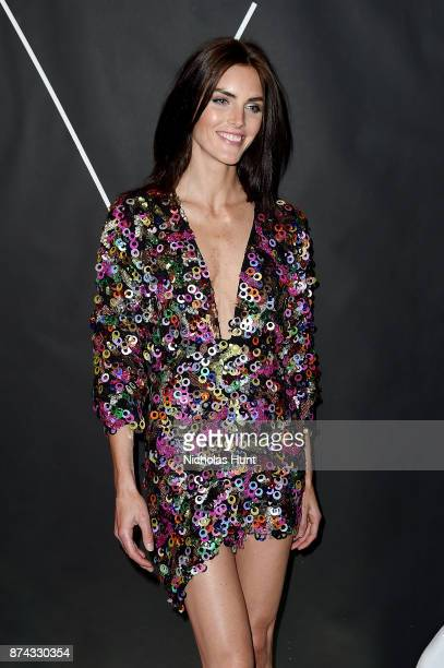 Model Hilary Rhoda attends the 2017 Whitney Art Party at The Whitney Museum of American Art on November 14 2017 in New York City
