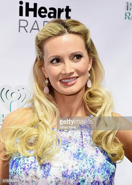 Model Holly Madison attends The iHeartRadio Summer Pool Party at Caesars Palace on May 30 2015 in Las Vegas Nevada