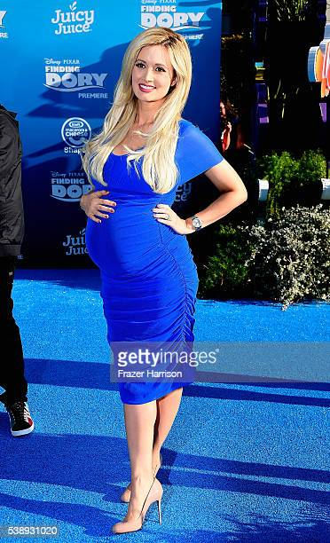 Model Holly Madison attends the world premiere of DisneyPixar's 'Finding Dory' at the El Capitan Theatre 2016 in Hollywood California