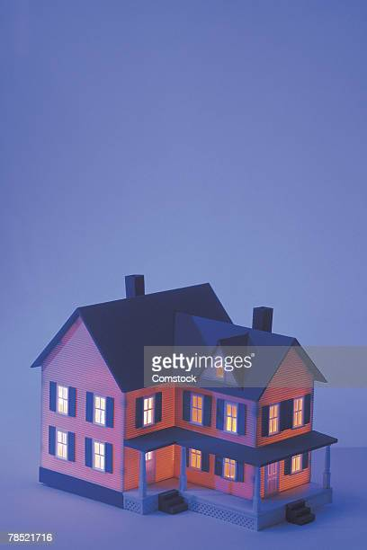 model house - dollhouse stock pictures, royalty-free photos & images