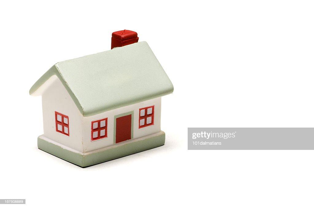 Model house-isolated on white : Stock Photo