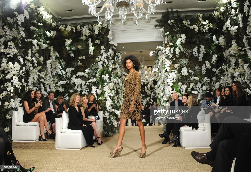 Ralph Lauren - Front Row & Backstage - February 2017 - New York Fashion Week : News Photo
