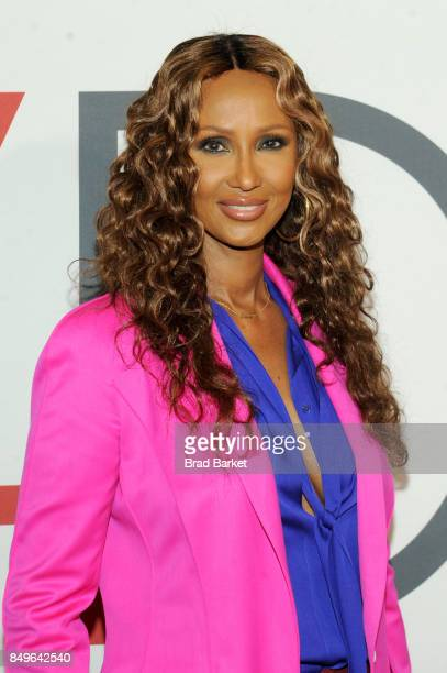 Model Iman attends Fashion 4 Development's 7th Annual First Ladies Luncheon at The Pierre Hotel on September 19 2017 in New York City