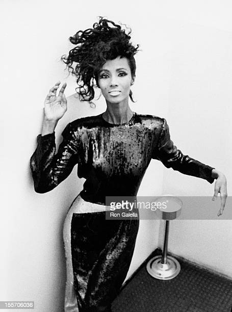 Model Iman attends Francesco Scavullo Fall Fashion Preview on June 3 1985 at the Ballroom in New York City