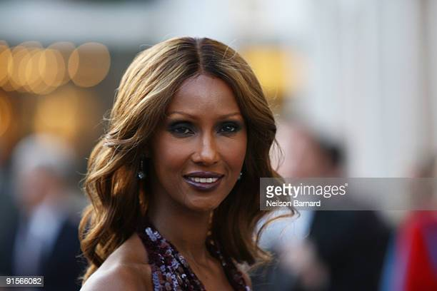 Model Iman attends the American Ballet Theatre 2009 Fall Gala at Avery Fisher Hall Lincoln Center on October 7 2009 in New York City