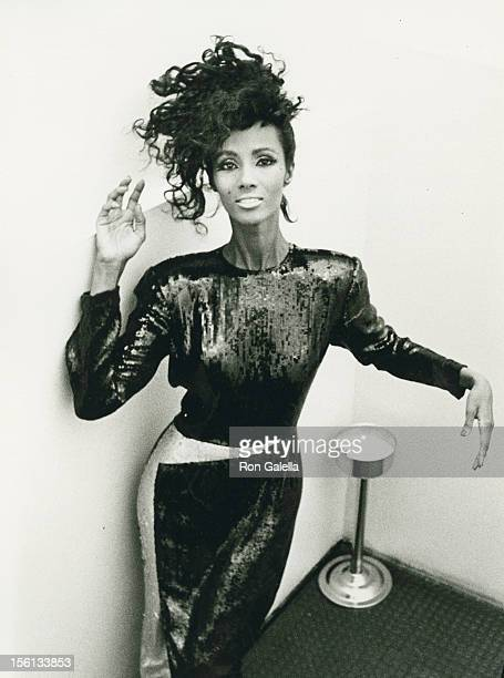 Model Iman attends the Francesco Scavullo Fall Fashion Preview on June 3 1985 at the Ballroom in New York City