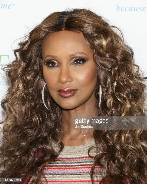 Model Iman attends the The Fresh Air Fund Annual Spring Benefit at The Ziegfeld Ballroom on May 22 2019 in New York City