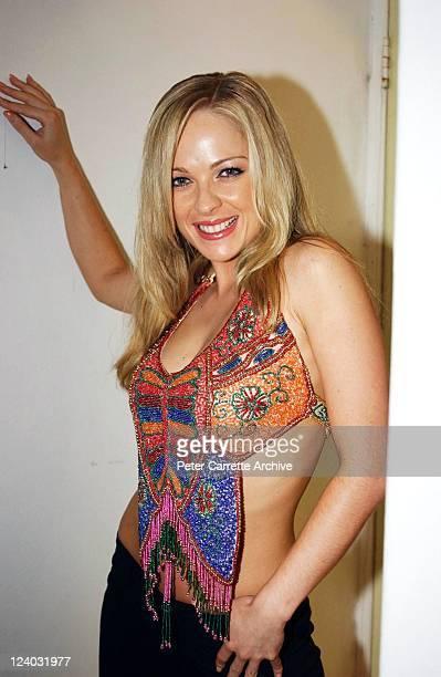 Model Imogen Bailey at the launch of her latest calendar on November 28 2002 in Sydney Australia