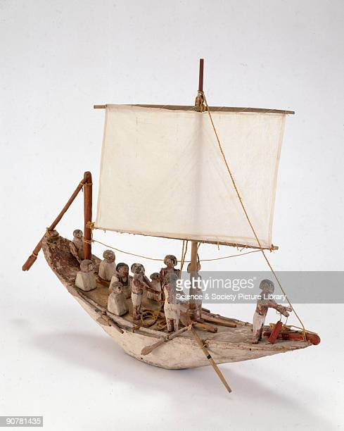Model In Ancient Egypt it was a common custom to place models of boats in the tombs of kings and nobles particularly during the XI XII and XIII...
