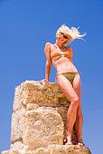 model in bikini