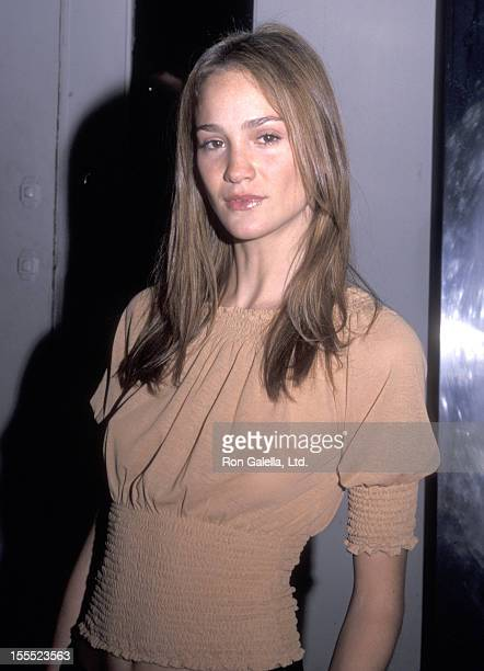Model Ines Rivero attends the TNT Masters Series Presents An AllStar Tribute to Joni Mitchell A Television Concert Special on April 6 2000 at...