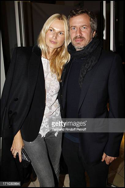 Model Inga Savits Xavier Barroux at Every Journey Began In Africa Party For The Exhibition Africa Rising And The Discovery Of The Collaboration...