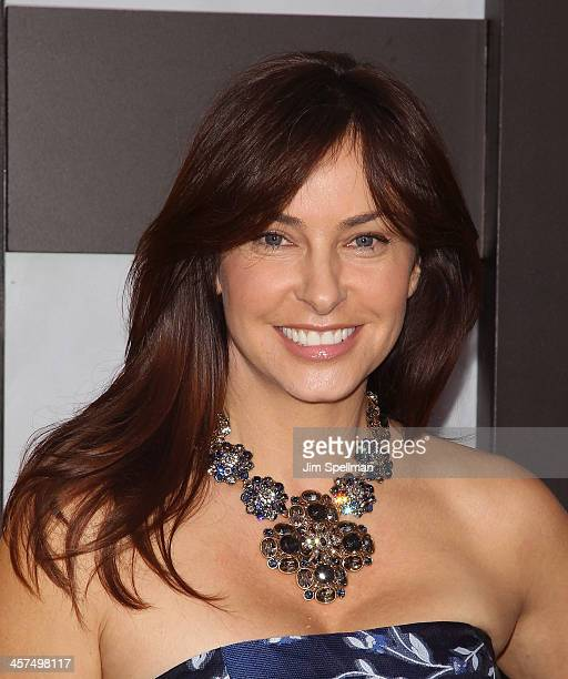 Model Ingrid Vandebosch attends the The Wolf Of Wall Street premiere at Ziegfeld Theater on December 17 2013 in New York City