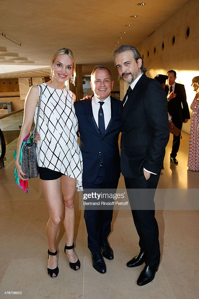 'The Fine Art Of High Jewelry And Timepieces'  Gala Dinner At Musee du Louvre In Paris