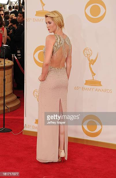 Model Ireland Baldwin arrives at the 65th Annual Primetime Emmy Awards at Nokia Theatre LA Live on September 22 2013 in Los Angeles California