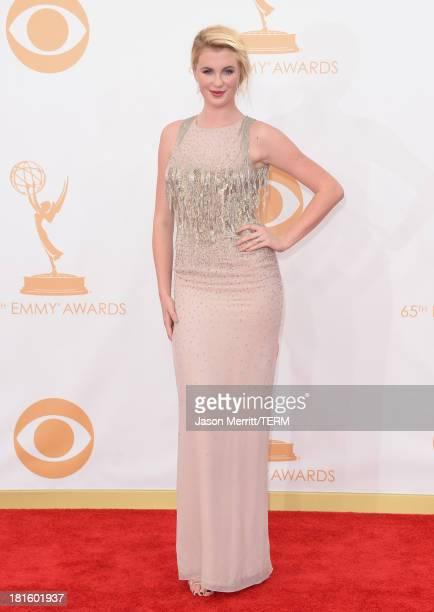 Model Ireland Baldwin arrives at the 65th Annual Primetime Emmy Awards held at Nokia Theatre LA Live on September 22 2013 in Los Angeles California