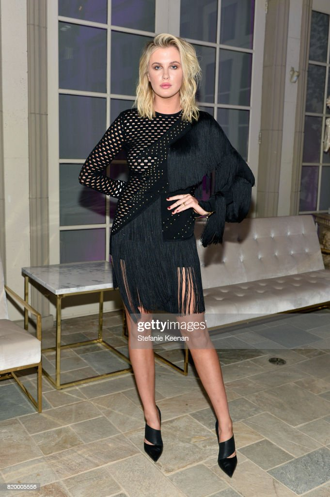 Model Ireland Baldwin at BALMAIN celebrates first Los Angeles boutique opening and Beats by Dre collaboration on July 20, 2017 in Beverly Hills, California.