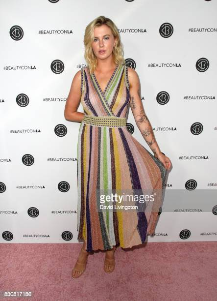 Model Ireland Baldwin attends Day 1 of the 5th Annual Beautycon Festival Los Angeles at the Los Angeles Convention Center on August 12 2017 in Los...