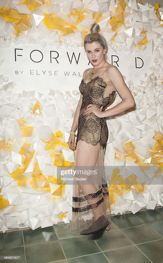 Model Ireland Baldwin attends Soho Desert House with Bacardi and Spotify Day 1 on April 11, 2014 in La Quinta, California.