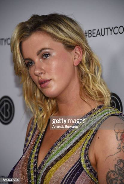 Model Ireland Baldwin attends the 5th Annual Beautycon Festival Los Angeles at the Los Angeles Convention Center on August 12 2017 in Los Angeles...