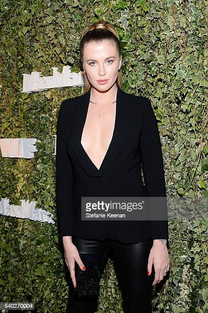 Model Ireland Baldwin wearing Max Mara attends Max Mara Celebrates Natalie Dormer The 2016 Women In Film Max Mara Face Of The Future at Chateau...