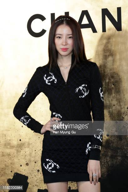 Model Irene Kim attends the CHANEL ParisNew York 2018'19 Metiers d'Art show on May 28 2019 in Seoul South Korea
