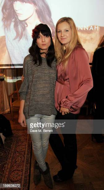 Model Irina Lazareanu and Savannah Miller attend afternoon tea hosted by Savannah Miller to celebrate the launch of the Savannah Spring/Summer 2013...