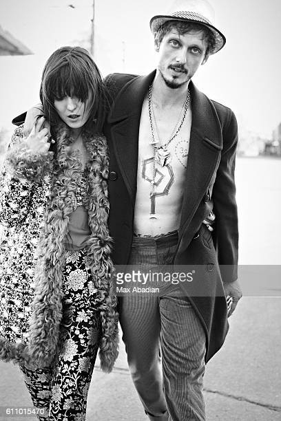 Model Irina Lazareanu is photographed for a rock and roll fashion editorial for Dress to Kill Magazine on August 17, 2012 in New York City. PUBLISHED...