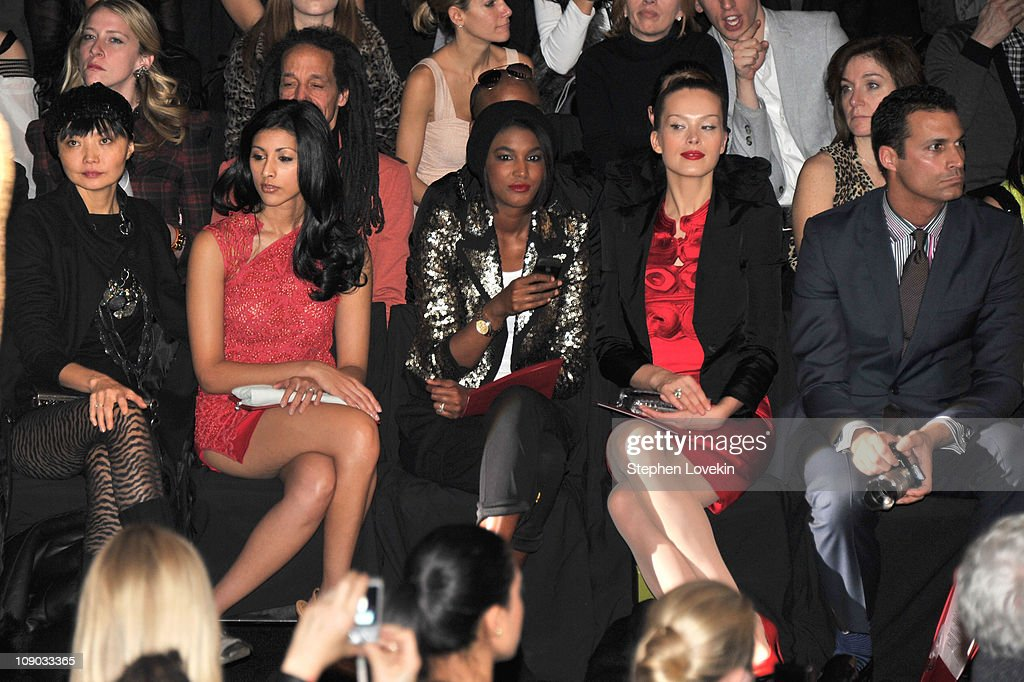 Vivienne Tam - Front Row - Fall 2011 Mercedes-Benz Fashion Week