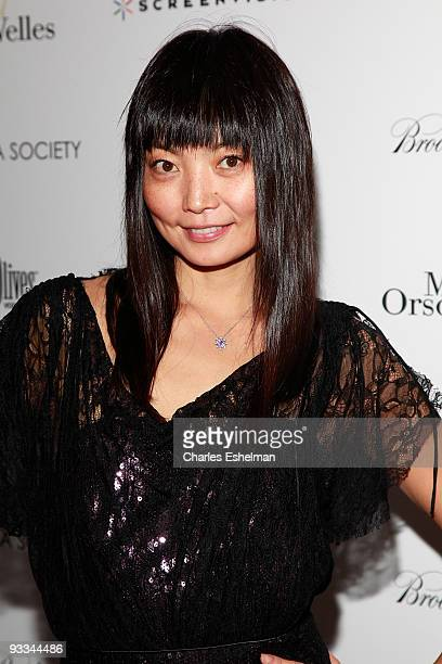 """Model Irina Pantaeva attends a screening of """"Me And Orson Welles"""" hosted by the Cinema Society, Screenvision and Brooks Brothers at Clearview Chelsea..."""