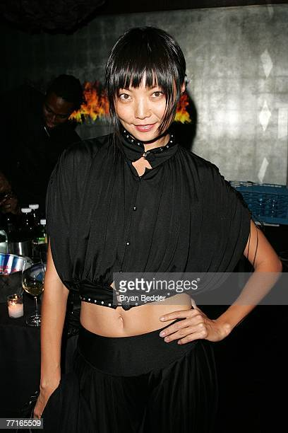 Model Irina Pantaeva attends the after party for the premiere of Sleuth at the Kobe club on October 2 2007 in New York City