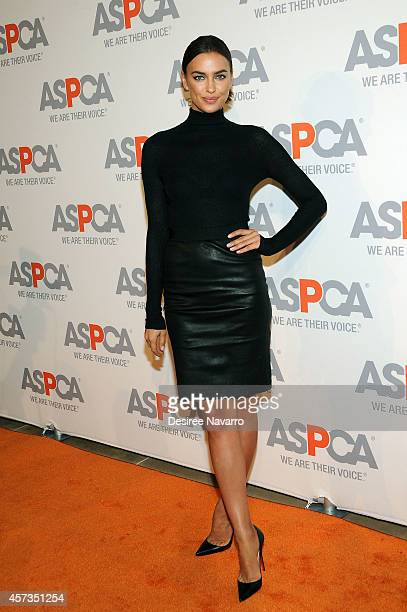 Model Irina Shayk attends ASPCA Young Friends Benefit at IAC Building at IAC Building on October 16 2014 in New York City