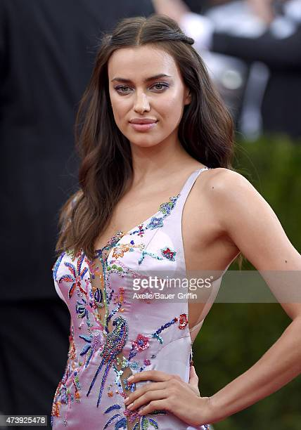 Model Irina Shayk attends the 'China Through The Looking Glass' Costume Institute Benefit Gala at the Metropolitan Museum of Art on May 4 2015 in New...