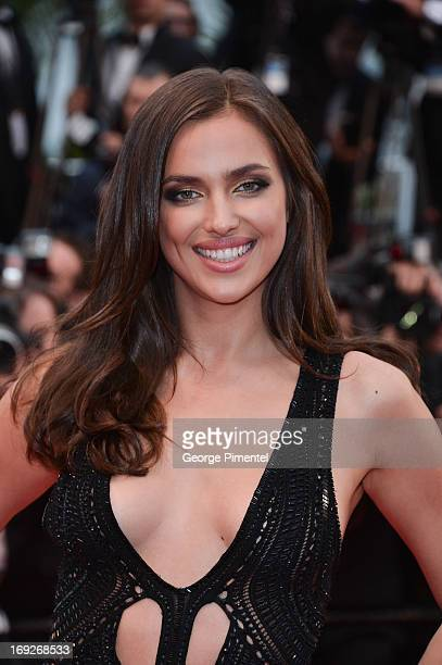 Model Irina Shayk attends the Premiere of 'All Is Lost' at The 66th Annual Cannes Film Festival on May 22 2013 in Cannes France