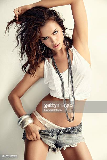 Model Irina Shayk is photographed for Self Assignment on June 9 2011 in New York City